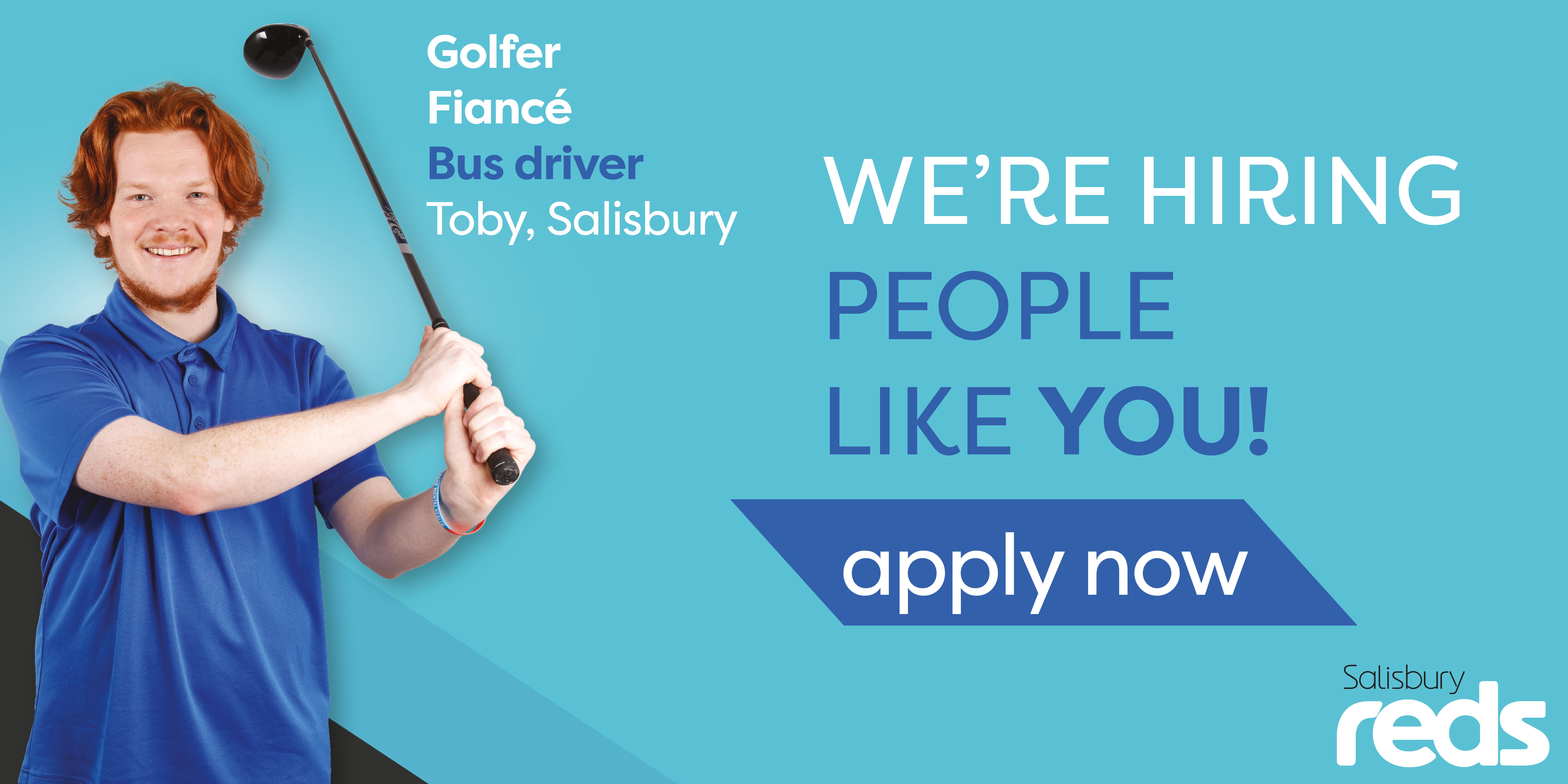 We're hiring people like you